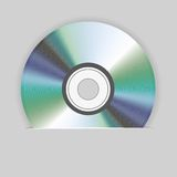 Vector cd in package for your design. Best choice Royalty Free Stock Image