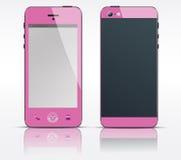 Vector cel, mobiele of slimme telefoon, smartphonespeld Royalty-vrije Stock Foto