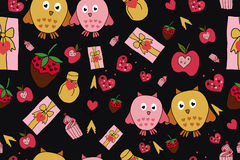 Vector celebratory love pattern. For your design vector illustration