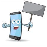 Vector Cell Mobile Mascot Stock Photo
