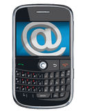 Vector cell phone / PDA / Blackberry. Vector cell phone, PDA and Blackberry Stock Image