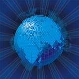 Vector cellular network theme Stock Photos