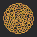 Vector celtic circle cross Royalty Free Stock Photos