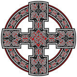 Vector celtic cross traditional ornament Stock Image