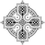 Vector celtic cross traditional ornament Royalty Free Stock Photos