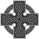 Vector celtic cross traditional sign Royalty Free Stock Photography