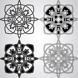 Vector Celtic Design Elements Royalty Free Stock Photo