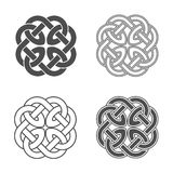 Vector celtic knot. Ethnic ornament. Geometric design Royalty Free Stock Images