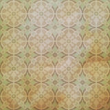 Vector ceramic tiles with seamless pattern. Grunge retro vintage Royalty Free Stock Photo