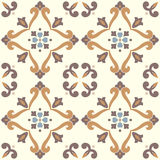Vector ceramic tiles with seamless pattern Stock Photo
