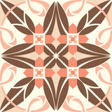 Vector ceramic tiles with seamless pattern Stock Photos