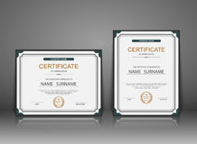 Vector certificate template Royalty Free Stock Images