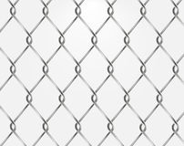 Vector chain fence Royalty Free Stock Photos