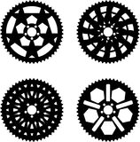 Vector chainrings pack Stock Photos