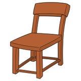 Vector of chair. Hand drawn cartoon, doodle illustration stock illustration