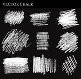 Vector Chalk Tone Value Stock Photography