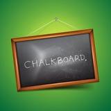 Vector Chalkboard. A vector chalkboard. Vector illustration Stock Photography