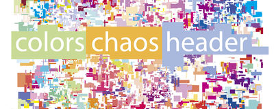 Vector chaos Royalty Free Stock Photo