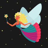 Vector Character Fairy Stock Photography