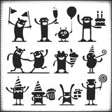 Vector Characters Royalty Free Stock Image