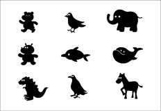 Vector charactors. Vector animal and other charactors #2 royalty free illustration