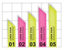 Vector  chart Royalty Free Stock Photos
