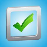 Vector check list symbol Royalty Free Stock Image