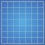 Vector checked blueprint background Stock Photos