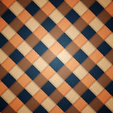 Vector checked pattern Stock Images