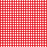 Vector checked tablecloth Royalty Free Stock Image