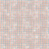 Vector checkered seamless background. Modern ethnic pattern. Wrapping fabric design. Royalty Free Stock Photo