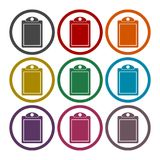 Vector checklist icons set. Vector icon Royalty Free Stock Images