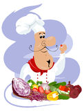 Vector chef Royalty Free Stock Images