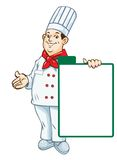 Vector. Chef menu Stock Photo