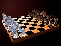 Vector chess. Stock Images