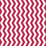 Vector Chevron Seamless Pattern. Bold Pink and white chevron or zig zag pattern. vector illustration
