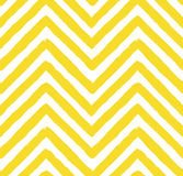 Vector Chevron Yellow Seamless Pattern Royalty Free Stock Photo