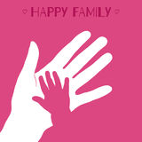 Vector child hand Royalty Free Stock Image
