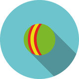 Vector children icon Green ball Stock Images