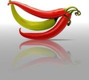 Vector chili kitcehen royalty free illustration