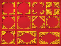 Vector china new year frame Stock Photography