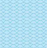 Vector Chinese cloud pattern royalty free illustration