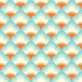 Vector Chinese cloud pattern background Stock Image