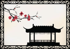 Vector chinese theme Stock Image