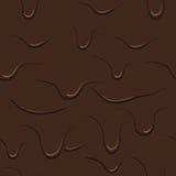 Vector chocolade als achtergrond Stock Foto's