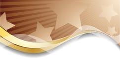Vector chocoladeachtergrond Stock Afbeelding
