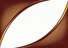 Vector chocolate background royalty free stock image