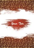 Vector. Chocolate background Royalty Free Stock Photography