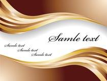 Vector chocolate banner royalty free stock photos