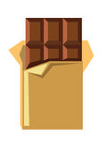 Vector chocolate bar Royalty Free Stock Photos